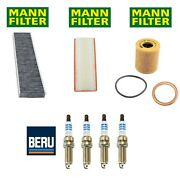 For Mini Cooper Paceman Countryman Turbo Tune Up Kit Filters And Spark Plugs Oem