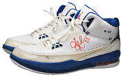 2008 Quentin Richardson New York Knicks Game-used And Dual Autographed Jordan Peand039s