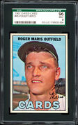 1967 O-pee-chee 45 Roger Maris Sgc 96 Mint And Centered Hobbyand039s 1 Card Pop 1
