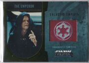 Star Wars 2016 Topps Evolution Commemorative Flag Patch Gold The Emperor 12/25
