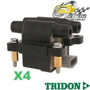Tridon Ignition Coil X4 For Subaru Forester 03/08-06/10 4 2.5l Ej25