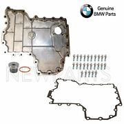 For Bmw E70 E71 Lower Engine Oil Pan W/ Drain Plug And Seal And Gasket+bolts Kit
