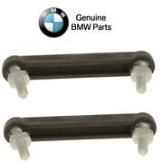For Bmw E39 E46 Pair Set Of 2 Rear Connector Rods For Headlight Level Sensor Oes
