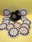 Vintage Sawyer Viewmaster And Reels - Disney Top Cat Museum Of Science And Industry