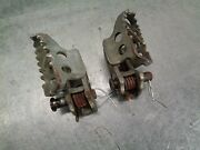 91 1991 Yamaha Yz250 Yz 250 Motorcycle Engine Body Footpegs Foot Pegs Pedals