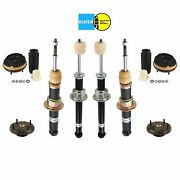 For Jaguar S-type 00-02 Front And Rear Shocks And Struts W/ Mount Kit Bilstein B4