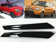 Windshield Pillar Trim 2009-2013 Soul Exterior Molding Garnish Right And Left Kit