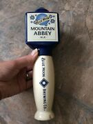 Blue Moon Mountain Abbey Ale Beer Tap Handle
