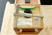 Mitutoyo Holtest Type Ii Inside Micrometer Hole Bore Gage Gauge 9-10andrdquo / 0.0002