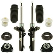 For Jaguar X-type 02-08 Pair Set Of 2 Struts W/ Mounts And Bearings And Bellows Oem