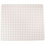Stackable Base Plate Premium White Large Pegs 16. 25 X 13. 75 Lego Duplo New