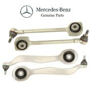 For Mercedes W204 W207 Set Of 2 Lower And Upper Control Arms And Ball Joint Genuine