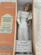 Princess Diana By Ashley Belle. Bnib W Doll Stand Genuine Porcelain Collectible