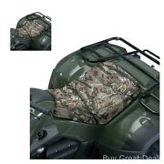 Atv Seat Cover Protect Bench Rain Dirt Universal Camouflage Leaf Camo Print