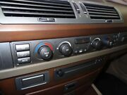 Oem Bmw 745 Heater A/c Climate Control 2002-2005 Without Rear Sunshade