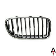 Front,right Passenger Side Grille For Bmw 5 Series Plasitc