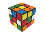 Bling Rubik's Cube Crystallized Playable Rubix Game Made With Crystals Bedazzled