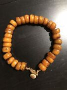 Vintage Amber Beads Excellent Antique 30 Beads Baltic Amber 115g