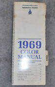 Sherwin - Williams Automotive Finishes 1969 Color Manual Ford Amc Chrysler Gm Vw