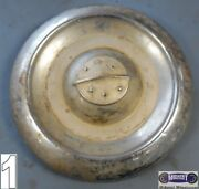 And03954 Olds Used Dog Dish Hubcap Chrome Dished In 8id X 10od Dd0059