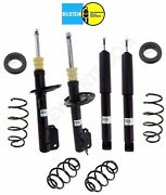 For Saab 9-3 Front Struts And Rear Shocks Coil Springs Standard Kit Bilstein B4