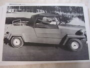 1968 King Midget Car Side View 11 X 17 Photo Picture