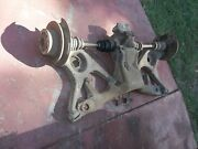72-85 Mercedes 350 450 380 Sl Rear End W/ Trailing Arms And Differential And Frame