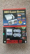 Nes And Snes Classic Edition Bundle Unopened And Never Used