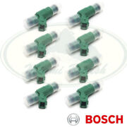 Land Rover Fuel Injector Set X8 Range P38 99-02 Discovery 2 Err6600 Bosch