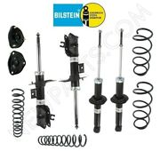 For Volvo S40 01-04 Front Struts And Rear Shocks Coil Springs Mount Suspension Kit