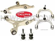 For Mercedes W251 R320 R500 2 Lower And 2 Upper Control Arms And Ball Joints Kit