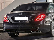 Amg W222 S Class S63 Diffuser Tailpipe Package S350 S400 S500 S550 S600 S63 S65