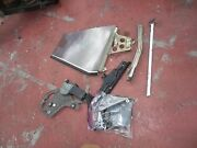 72-81 Mercedes 350 450 380 Slc Coupe Left Rear Window Glass And Motor And Mechanism