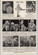1957 Paper Ad Ballerina Doll Paul Winchell Jerry Mahoney Puffy Musical Doll