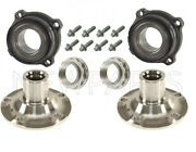 For Bmw E70 E71 F15 X5 Set Of Rear Left And Right Wheel Hubs W/ Bearings And Bolts