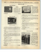 1938 Paper Ad Admiral Table Radio Sentinel Console Arm Chair Model