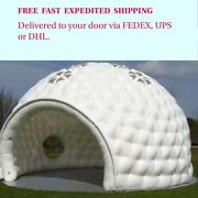 Large Inflatable Dome Event Tent Wedding Party Business Social. 19.6andrsquo W X 13andrsquo H