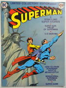 Limited Collectors Edition C-38 - Superman Dc 1975 Pin Up And 3-d Diorama
