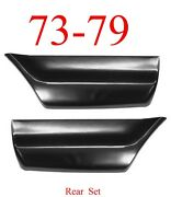 73 79 Ford Rear Lower Bed Patch Set Regular Super Crew Cab Truck 78 79 Bronco