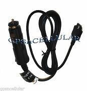 Oem Genuine Garmin Nuvi 700 750 755t 765t 785t Gps Charger Power Cable Cord Blk