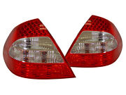 No Error Depo Facelift Clear Led Tail Light For 2003-06 Mercedes W211 E Class 4d