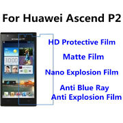 3pcs For Huawei Ascend P2 High Clear/matte/anti Blue Ray Screen Protector