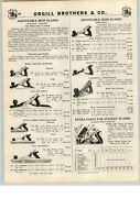 1939 Paper Ad 3 Pg Stanley Bailey Defiance Capewell Plane Tool Planes Parts List