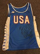 1989 World Cup Roger Kingdom Race Game Worn Used World Record 12.87 Jersey Pitt