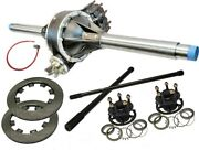 Max Option Black Low Drag Qc Rear End Kit With Rem Thermal Gn Lw Hubs And Rotors