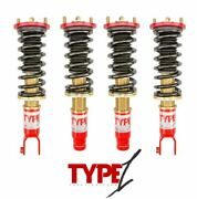 Function And Form F2 Type 1 Coilovers Suspension Kit Civic Eg 92-95 Del Sol 93-97