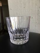 """Baccarat Set Of 6 Double Old Fashioned Crystal Bar Glasses Called """"piccadilly"""""""