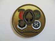 2001 Special Operations Uscincsoc Gen Charles Holland Black Ops Challenge Coin