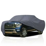[csc] Waterproof All Weather Truck Car Cover For Nissan Titan 2016-2021 2nd Gen