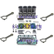 4he1 4he1t 4.8l Diesel Engine Rebuild Kit And4 Con Rods For Npr Nqr Gmc W3 W4 W5